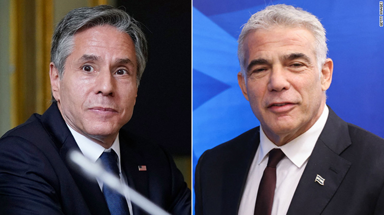 Blinken to meet Israel's new foreign minister in Rome