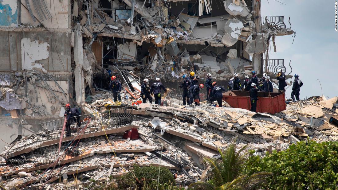 Death Toll in Florida Condo Collapse Rises to Nine