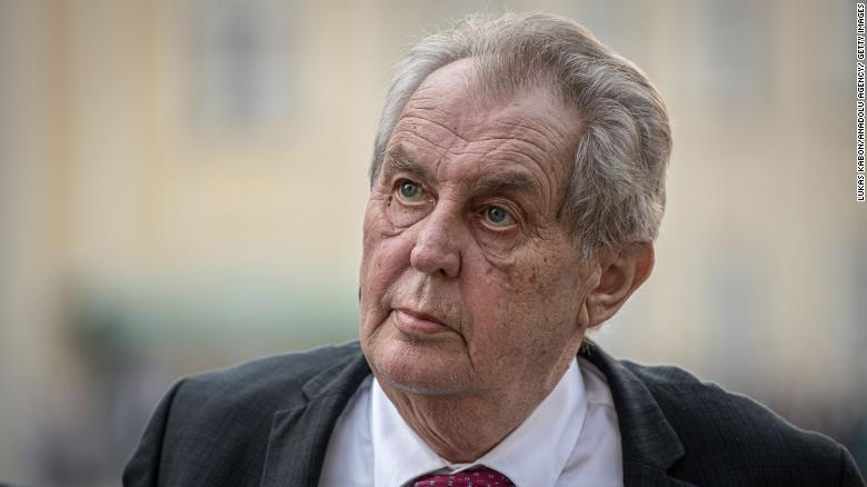 The comments by President Milos Zeman come as cities around the world celebrated Pride with parades and marches.