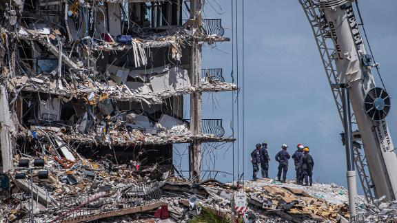 More than 3 million pounds of concrete have already been removed during the rescue operation, said Miami-Dade Fire Chief Alan Cominsky.