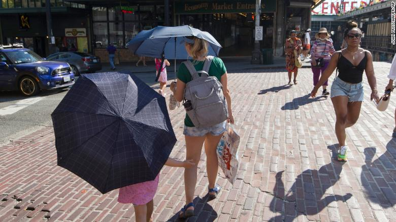 Well over 100 million people are under heat alerts as sweltering temperatures grip the nation, including the already hard-hit Northwest