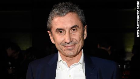 Burberry CEO, Marco Copetti.