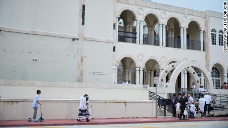 About 20 people with ties to the Shul of Bal Harbour synagogue remain unaccounted for.