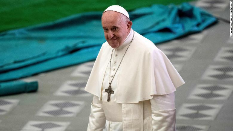 Pope Francis praised a priest's work with LGBTQ Catholics in a handwritten letter