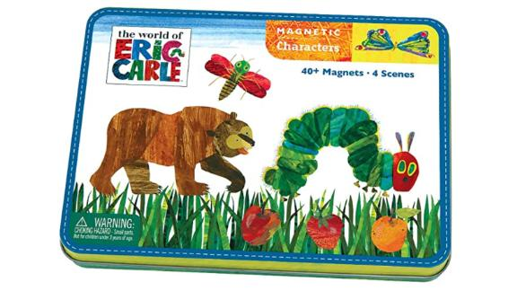 Mudpuppy Eric Carle The Very Hungry Caterpillar and Friends Magnetic Character Set