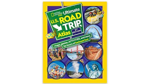 Atlas National Geographic Kids Ultimate Road Trip in the United States