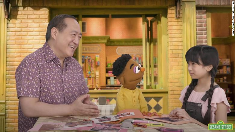 'Sesame Street' wants Asian American children to be 'Proud of Your Eyes'