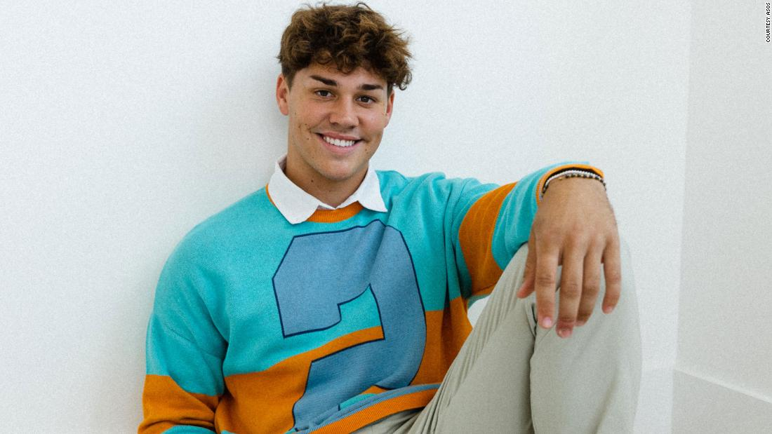 TikTok made Noah Beck inexplicably famous. Now he wants to break into high fashion