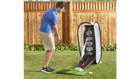 Hammacher Schlemmer The golf ball return chip net