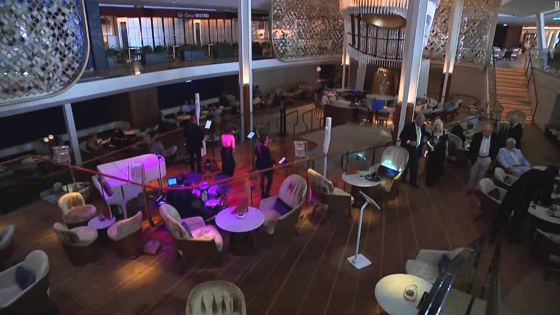 See inside the Celebrity Edge, the first cruise ship to leave US in 15 months