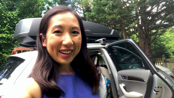 Image for Dr. Leana Wen shows us how she travels safely with her unvaccinated children