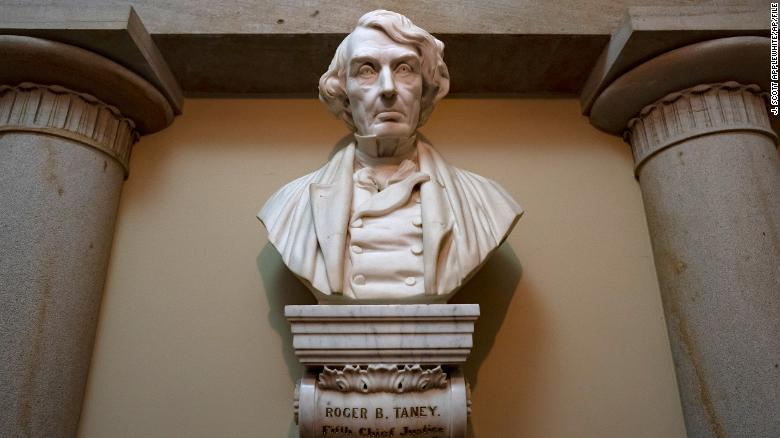 House votes to remove Confederate statues and replace Roger B. Taney bust