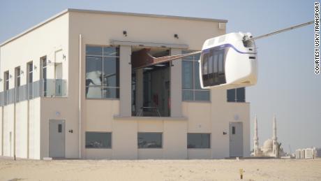 Viên nang uSky đang được thử nghiệm tại Công viên Nghiên cứu, Công nghệ và Đổi mới Sharjah.
