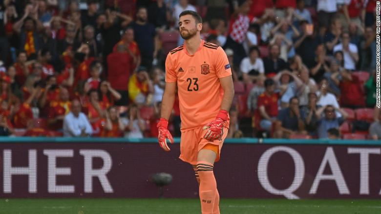 Spain overcomes extraordinary own goal to beat Croatia and reach Euro 2020 quarterfinals
