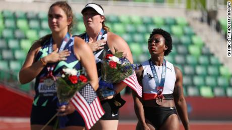 Berry will be competing at her second Olympics next month.