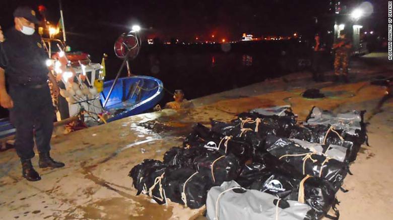 Half a ton of cocaine found floating off Algerian coast