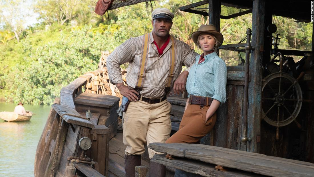 'Jungle Cruise' sets sail with a $90 million debut in theaters and streaming