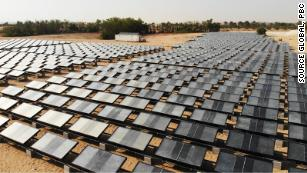 Making water in a desert, from sunlight and air