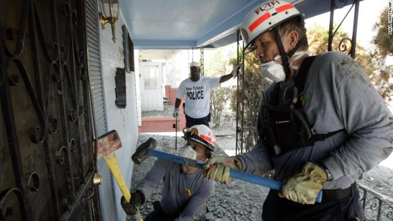 Equipo rescate Miami