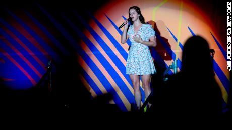 Lana Del Rey performs at the Benicàssim International Music Festival in Benicàssim, Spain on July 20, 2019.