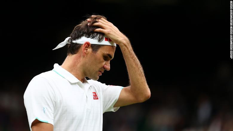 Roger Federer says he 'got a bit lucky' as Swiss star survives Wimbledon first-round scare