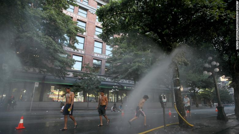 More than 230 deaths reported in British Columbia amid historic heat wave