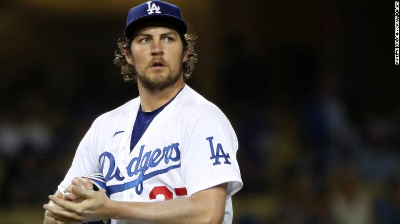 Los Angeles Dodgers pitcher Trevor Bauer is accused of assault