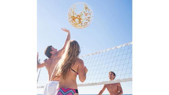 Amor Inflatable Glitter Beach Ball