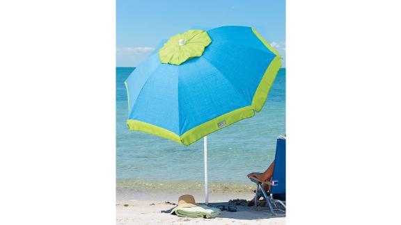 Rio Beach Deluxe Sun Protection Beach Umbrella