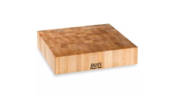 John Boo's 18-inch-by-18-inch cutting board