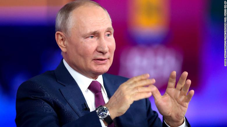 Putin says US sanctions on Russia 'even did us good'