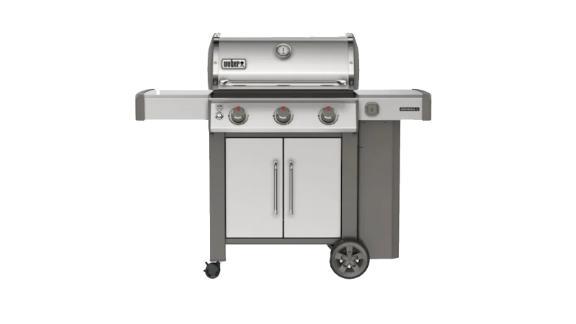 Weber Genesis II Stainless Steel 3-Burner Propane Gas Grill