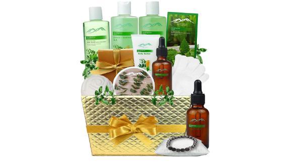 Bed Bath Body Gift Set Eucalyptus Mint Aromatherapy