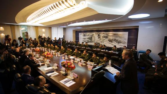 Rumsfeld visits the Academy of Military Science in Beijing in October 2005. He traveled to China for meetings with military and civilian leaders.