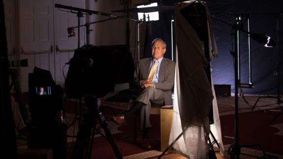 Rumsfeld is interviewed for a documentary about White House chiefs of staff in 2012.