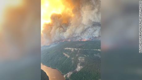 Canadian village 'devastated' by wildfires a day after temperatures topped 121 degrees