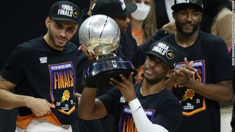 Chris Paul inspires Phoenix Suns to first NBA Finals since 1993 after heated win against LA Clippers