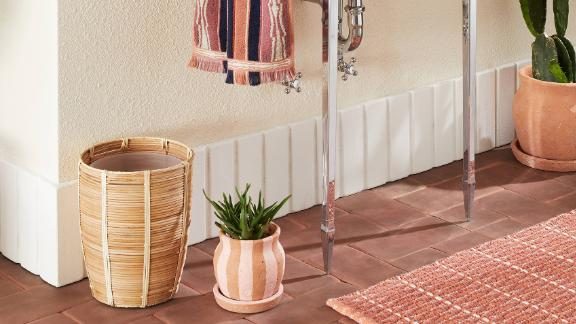 Opalhouse Designed With Jungalow Woven Natural Wastebasket