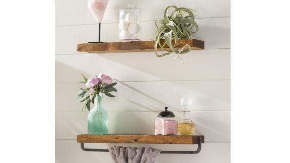 Birch Lane Sunny Side 2-Piece Pine Shelves