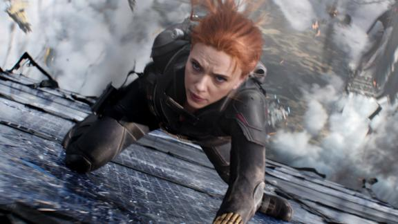 Scarlett Johansson stars in 'Black Widow,' as Marvel transitions into its next phase.