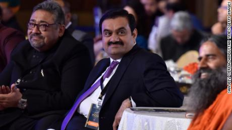 Chairman and founder of the Adani Group Gautam Adani seen during the News18 Rising India Summit  on February 25, 2019 in New Delhi, India.