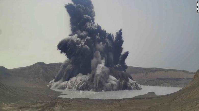 Philippines raises Taal volcano danger level as thousands evacuate