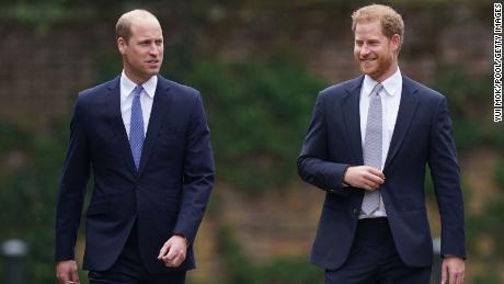 William y Harry están trabajando juntos de nuevo.