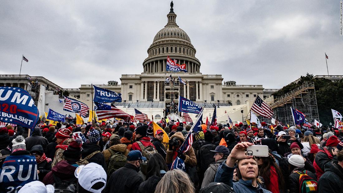 Opinion: January 6 rioters followed Trump's blueprint