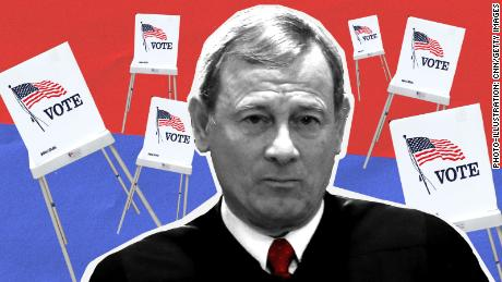 John Roberts Again Takes on Voting Rights Act and Disclosures of Political Money