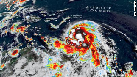 Elsa strengthens into a hurricane, the season's first, and could near the Florida Peninsula by next week