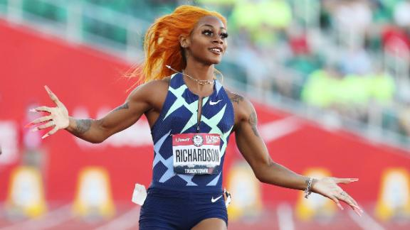 Image for US sprinter could miss Olympics after positive test
