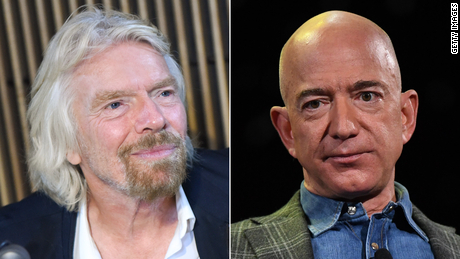 Richard Branson: 'I would love Jeff Bezos to come and see our flight off'