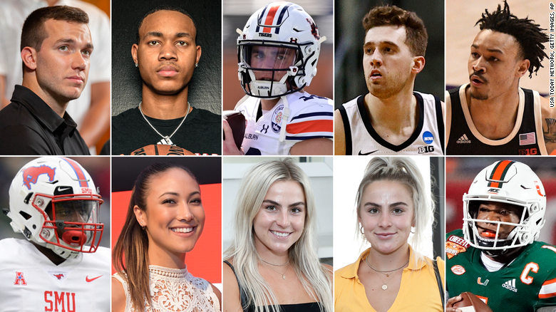 Here are some of the ways NCAA athletes are embracing the new world of the 'NIL' deal