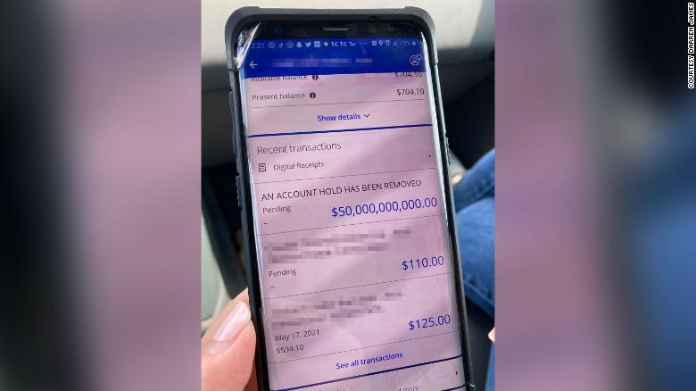A bank accidentally deposited $50 billion into a Louisiana family's account
